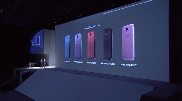 Samsung Galaxy S4 disponible próximamente en cinco nuevos colores - galaxy-s4-colores