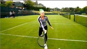 Un día en la vida de una tenista profesional en Wimbledon con los Google Glass