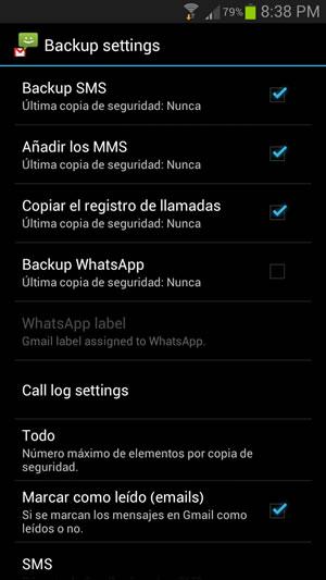 Respalda tus mensajes SMS, MMS y WhatsApp en Android con SMS Backup+ - resguardar-mensajes-en-android