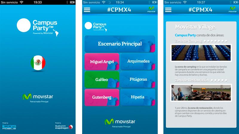 Descarga la aplicación oficial de Campus Party MX para iOS, Android y Windows Phone - Cpmx4-app