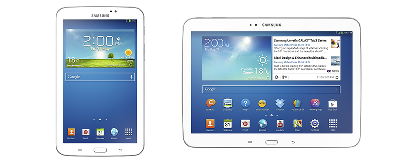 Samsung presenta las nuevas Galaxy Tab 3 en México - GALAXY-Tab-3