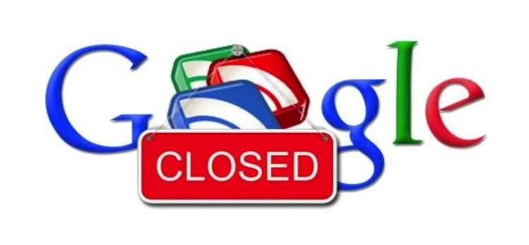 Google Reader muere hoy, no te olvides de respaldar tu información - Google-reader-cierra