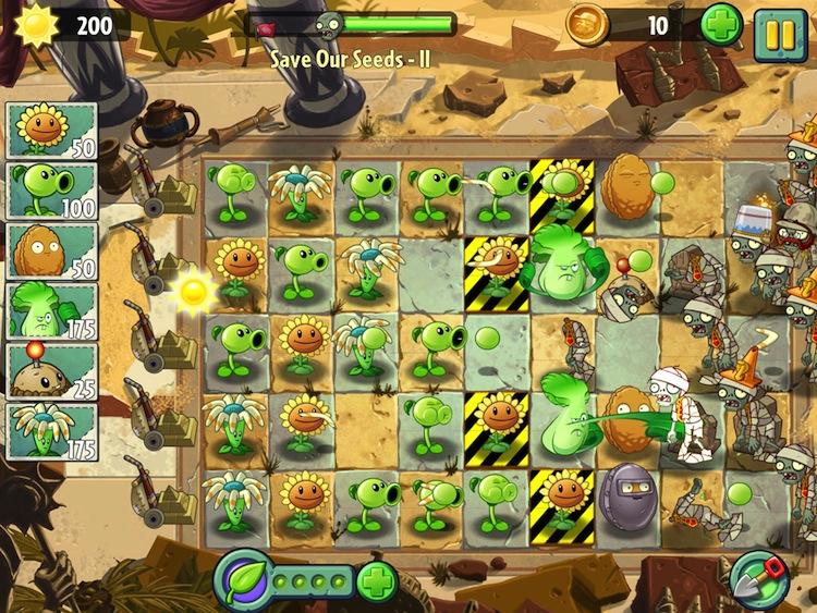Plants vs Zombies 2, aparece en las App Store para su descarga - Plants-vs-Zombies
