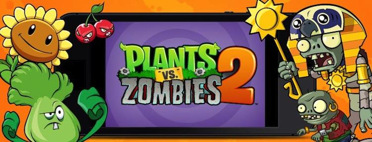 Plants vs zombies 2 Plants vs Zombies 2, aparece en las App Store para su descarga