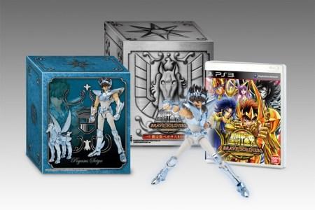 Saint Seiya: Braves Soldiers para PS3 tendrá edición de coleccionista con Myth Cloth de Pegaso