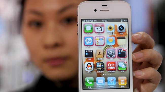 Otro electrocutado por utilizar su iPhone mientras se encontraba conectado a la toma eléctrica - china-iphone-4-electrocutado