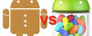 Jelly Bean por fin supera a Gingerbread en el uso de dispositivos móviles con Android