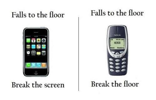 Pruebas de resistencia a celulares Nokia [Video] - memes-nokia-3
