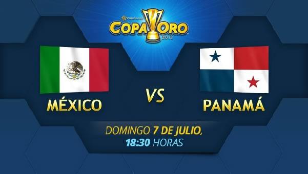 mexico vs panama México vs Panamá en vivo, Copa Oro 2013