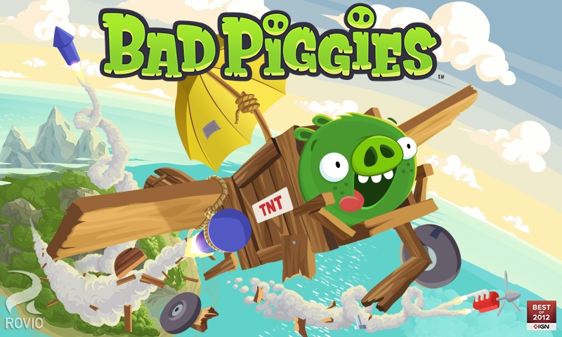 Bad Piggies para iOS gratis por tiempo limitado - Bad-piggies