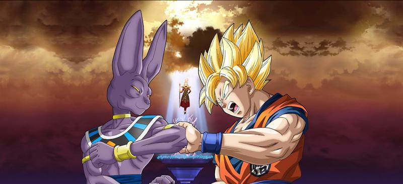 Dragon ball z batalla de los dioses Tráiler Dragon Ball Z: La batalla de los Dioses en español Latino con la voz de Mario Castañeda