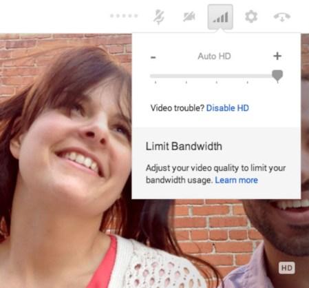 Videollamadas de Google Hangouts son ahora HD