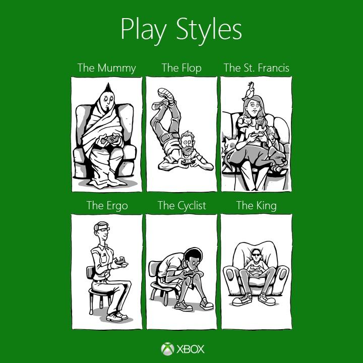 Posturas videojuegos Posturas al jugar videojuegos