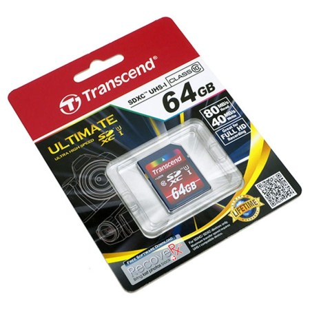 Transcend lanza tarjetas de memoria SDXC UHS-I de Alta Capacidad