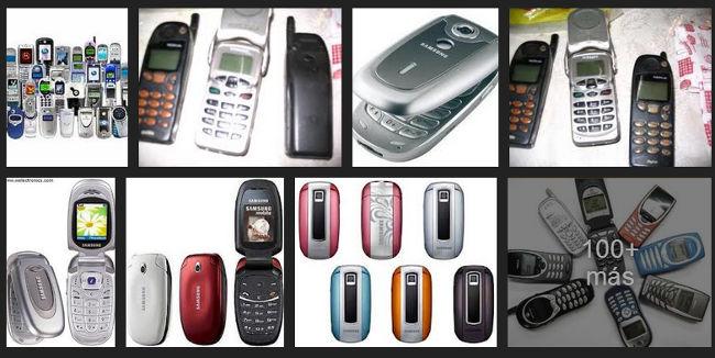 La extinción de los celulares austeros  - celulares-viejitos