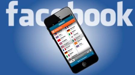 Facebook compra empresa de traducciones y reconocimiento de voz