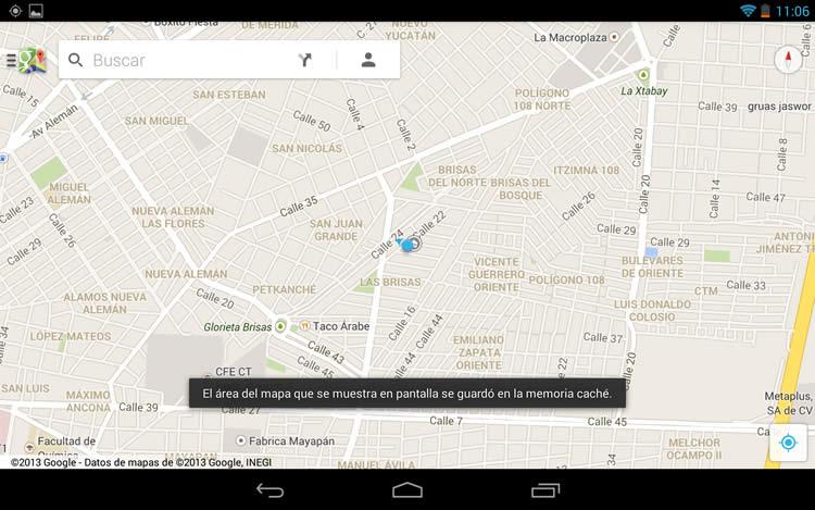 google maps offline Ver mapas de google sin conexión a internet en iOS y Android