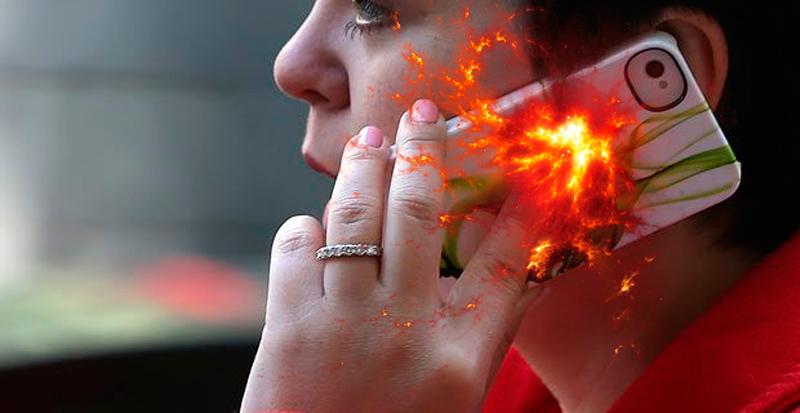 Otro iPhone 5 explota y casi deja ciega a una joven china - iPhone-5-explota