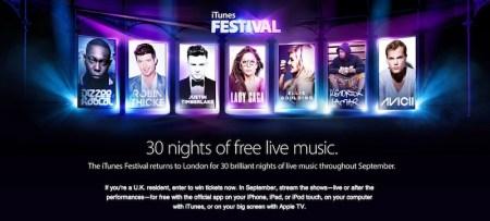 iTunes Festival 2013 en vivo desde Londres