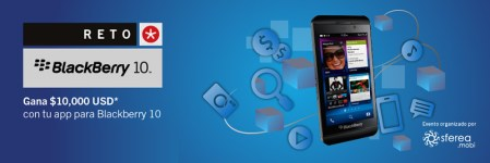 Desarrolla un app para BlackBerry 10 y gana 10,000 USD en el Reto BlackBerry 10