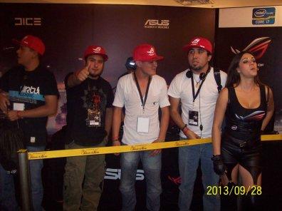 La laptop ASUS G750 demostró su poderío en el torneo Republic of Gamers (ROG) - 100_3343_1