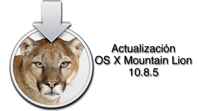 Actualización OS X 10.8.5 disponible para descargar - Actualizacion-OS-X-10-8-5