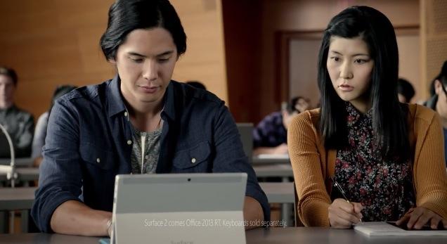 Comercial Surface 2 Microsoft muestra todo el poder de la Surface 2 en un comercial
