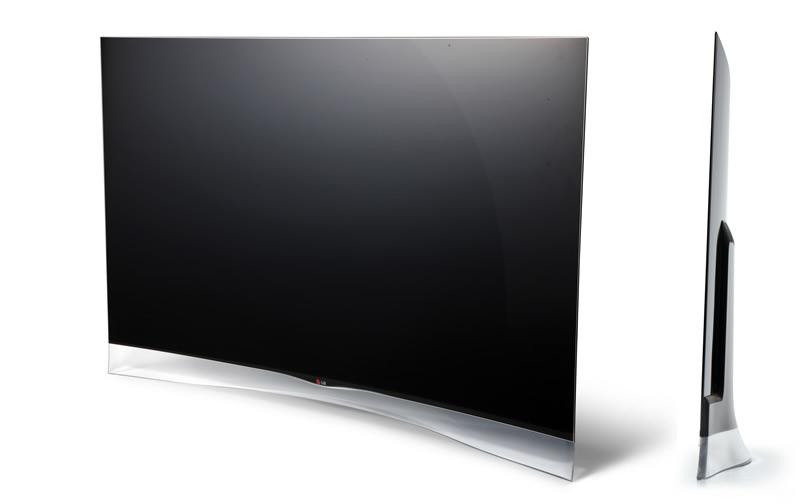 Nuevos Televisores LG OLED y ULTRA HD TV fueron presentados - LG-OLED-TV-Curva