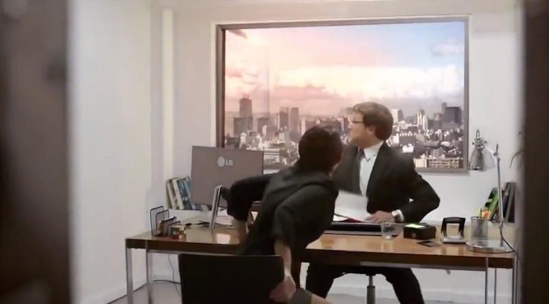 LG broma fin del mundo LG hace una broma del fin del mundo con sus pantallas Ultra HD