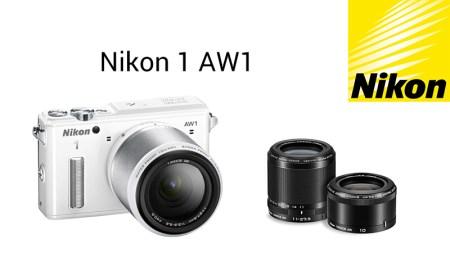 Nikon presenta su nueva cámara sumergible Nikon 1 AW1