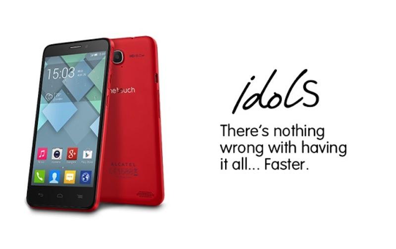 alcatel one touch idol s Alcatel presenta el One Touch Idol S y el Idol Mini