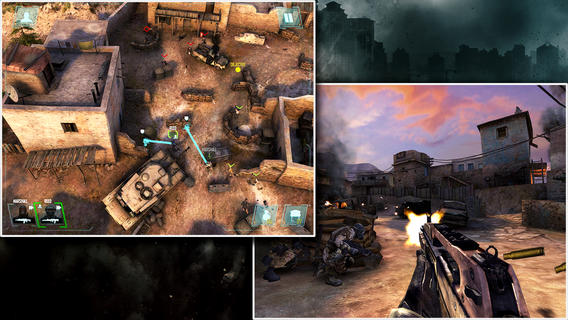 Call of Duty: Strike Team ya disponible para iPhone, iPod e iPad - call-of-duty-strike-team