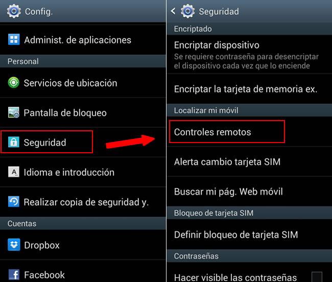 Rastrear tu celular Samsung y bloquearlo a distancia con Findmymobile - controles-remotos-samsung