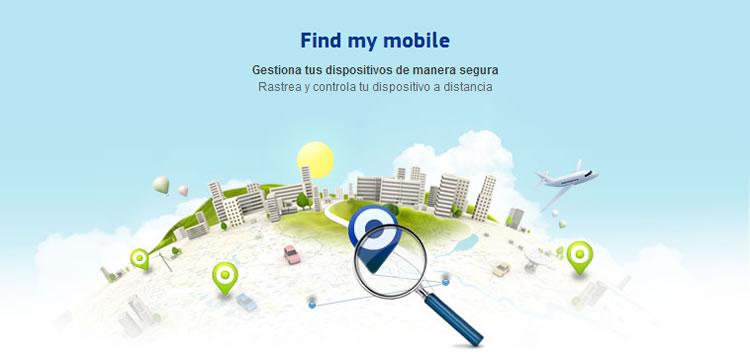 find my mobile de samsung Rastrear tu celular Samsung y bloquearlo a distancia con Findmymobile