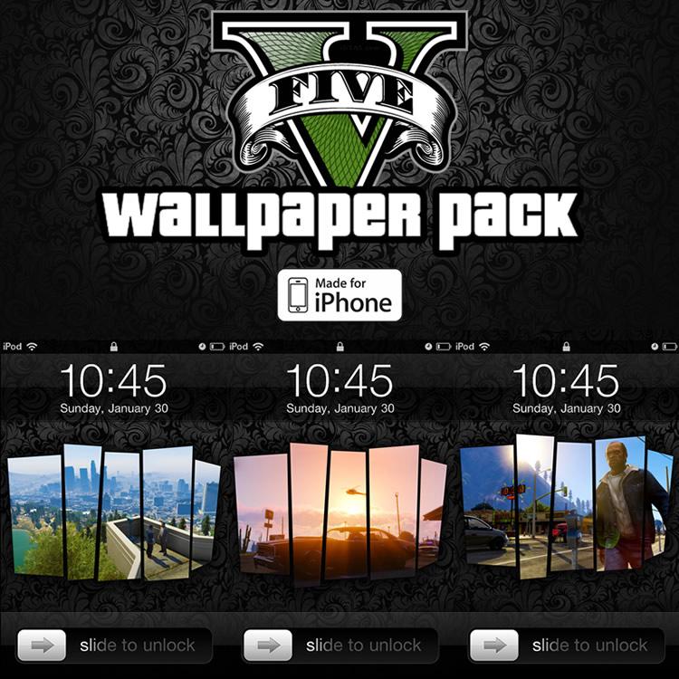 Wallpapers de Grand Theft Auto V para tu computadora - fondos-gta-5-iphone