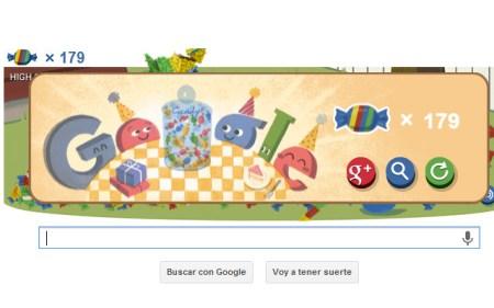 Google celebra sus 15 años con un Doodle interactivo