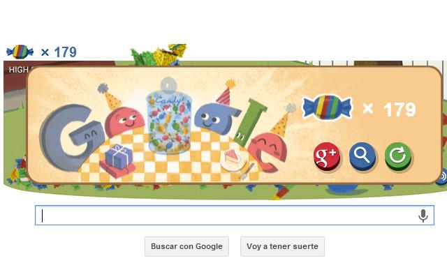 Google celebra sus 15 años con un Doodle interactivo - google-celebra-15-aniversario
