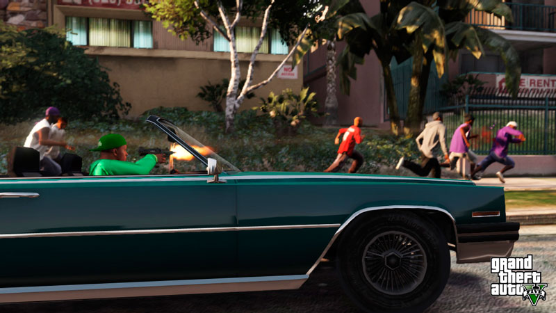 Grand Theft Auto V tiene a pandilleros reales dando voces al videojuego - gta-v-voices