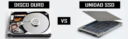 Disco duro HDD vs SSD ¿Cuál es la diferencia?