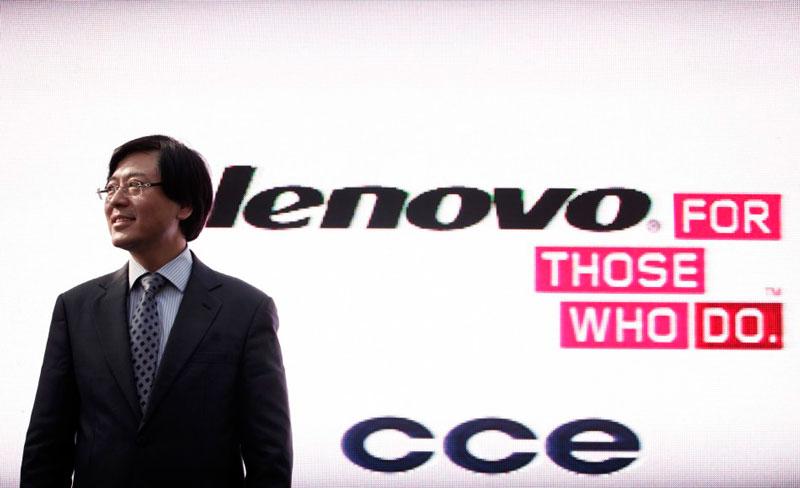 CEO de Lenovo obtiene cuantioso bono y decide compartirlo con sus trabajadores - lenovo