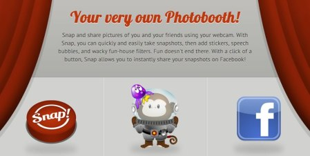 Efectos para fotos en Windows al estilo Photo Booth con Snap!
