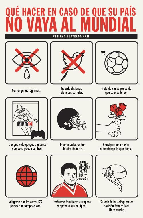 Qué hacer en caso de que la selección mexicana de fútbol no vaya al mundial [Humor] - que-hacer-en-caso-de-no-ir-al-mundial