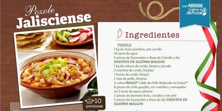 Recetas mexicanas para celebrar el día de la independencia - receta-pozole-mexico