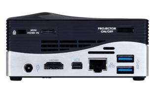 Es presentado la Ultra PC BRIX Projector de GIGABYTE con mini proyector LED de 75 lúmenes integrado - 8972_m