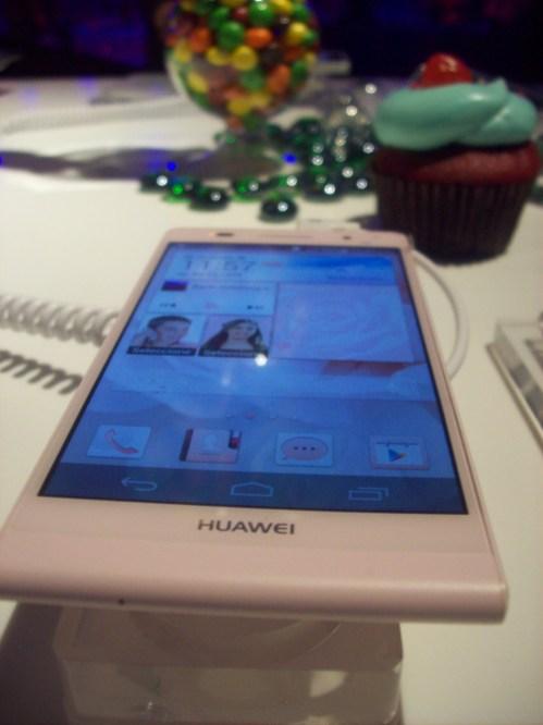 Huawei Ascend P6 es lanzado en México - AscenP6-rosa