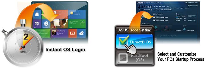 Boot settings [Preview] Conoce la tarjeta madre ASUS GRYPHON Z87