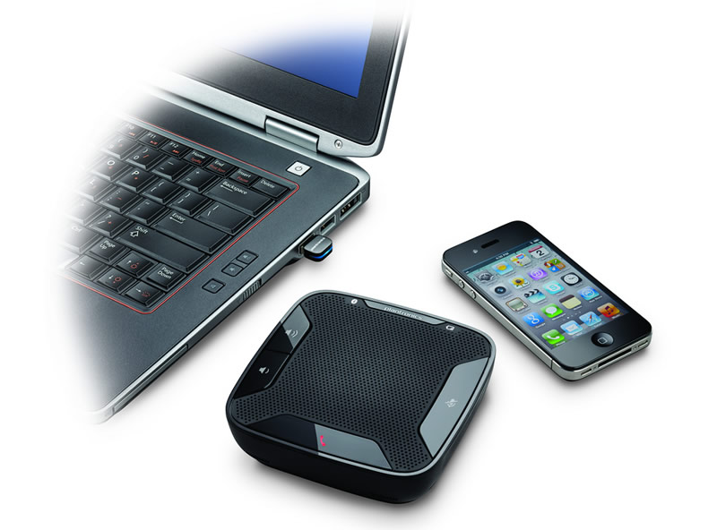Calisto 620 de Plantronics, un sistema manos libres para tu smartphone o computadora - Calisto-620-manos-libres