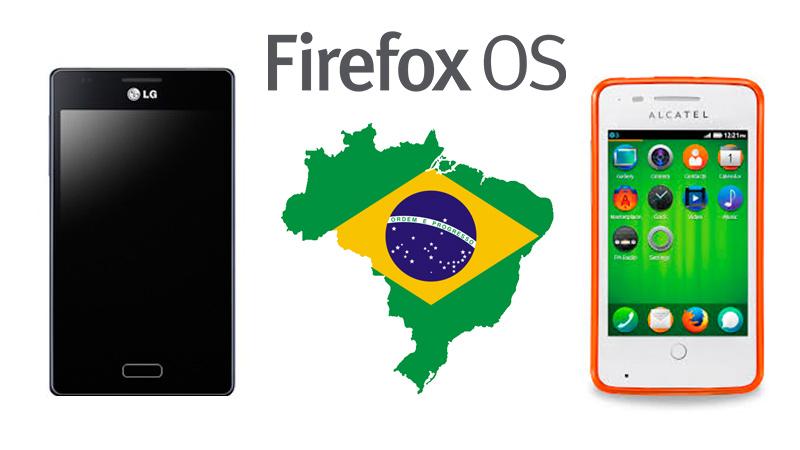 Firefox OS Brasil Firefox OS fue lanzado oficialmente en Brasil