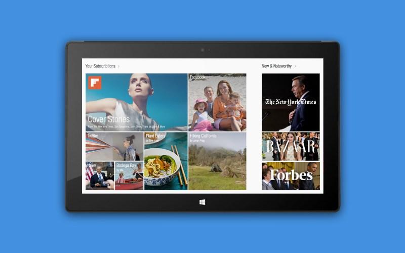 Flipboard llegará a Windows 8 y RT para final de año - Flipboard