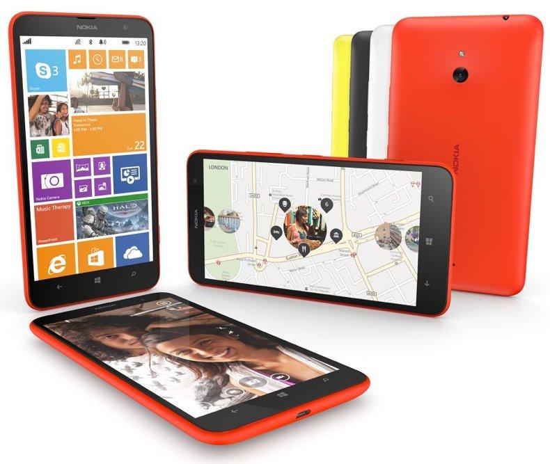Nokia Lumia 1520 y 1320 con gloriosas pantallas de 6 pulgadas son presentados oficialmente - Lumia-1320